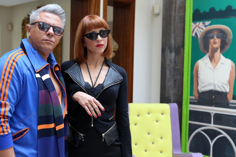 Dino Abbrescia e Susy Laude