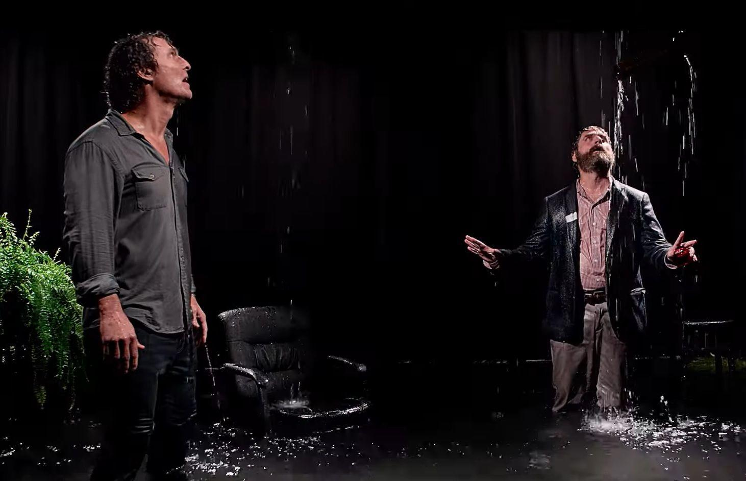 Matthew McConaughey e Zach Galifianakis