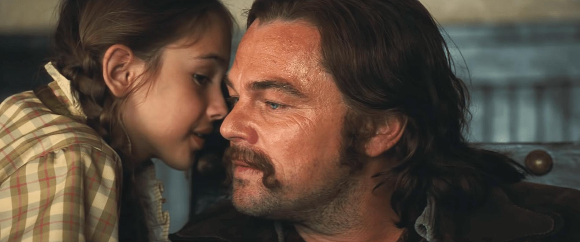 Leonardo DiCaprio e la bambina