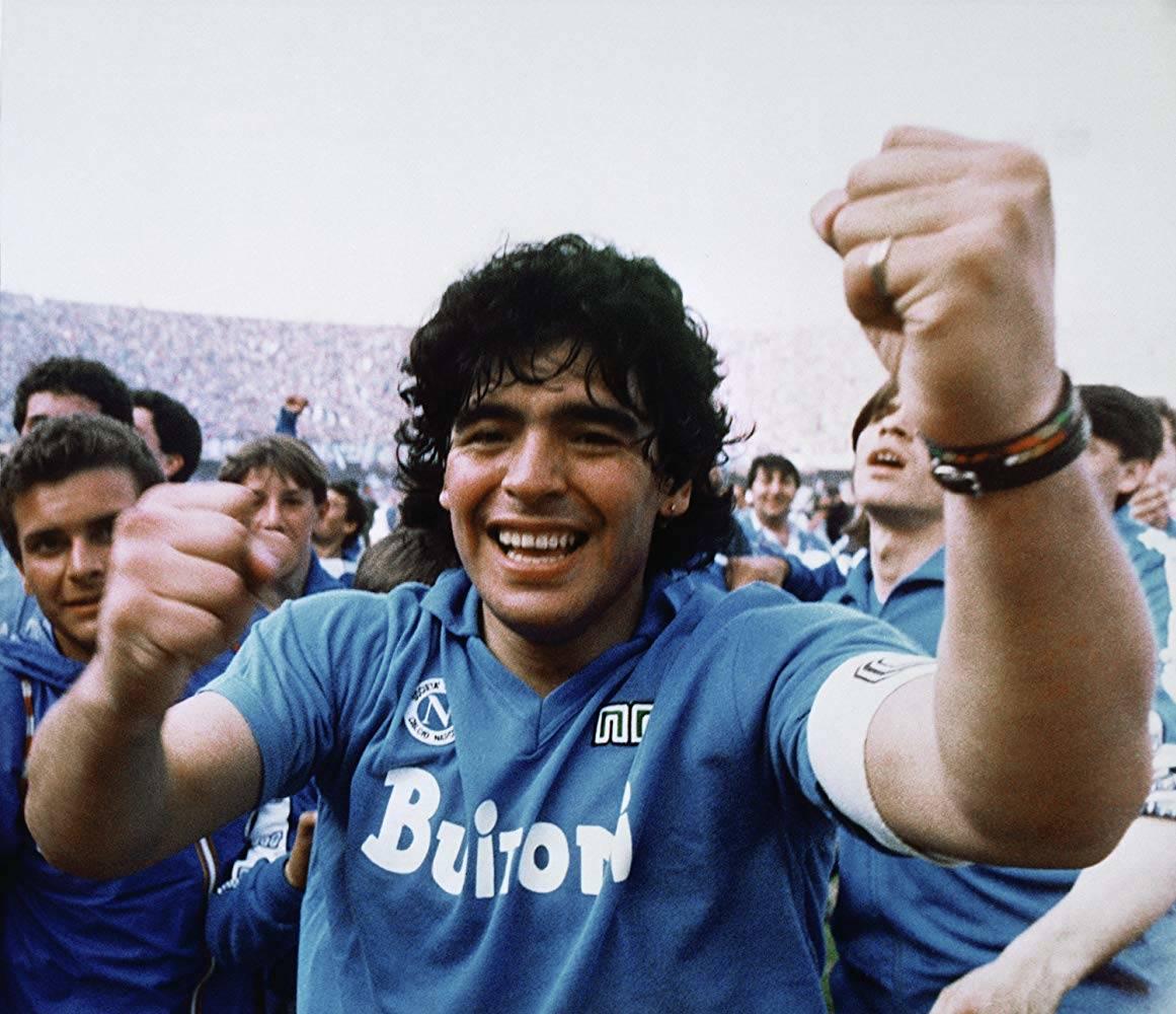 Maradona nel documentario di Asif Kapadia