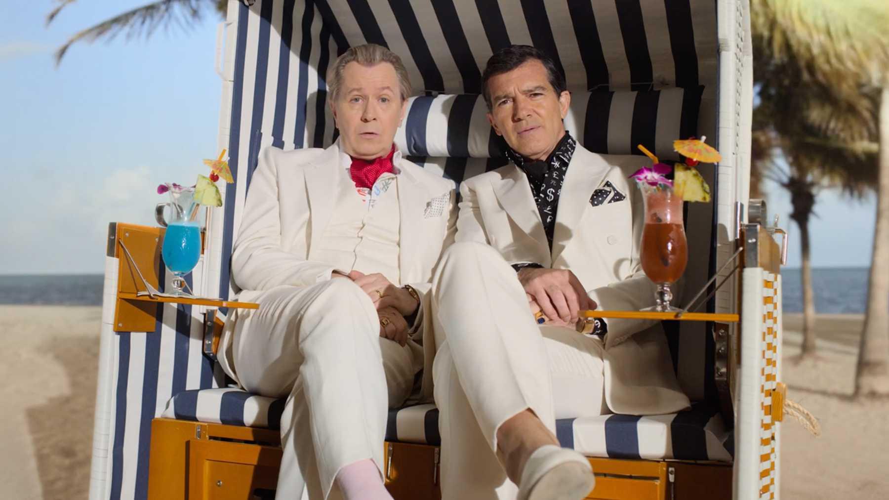 Gary Oldman e Antonio Banderas in Panama Papers