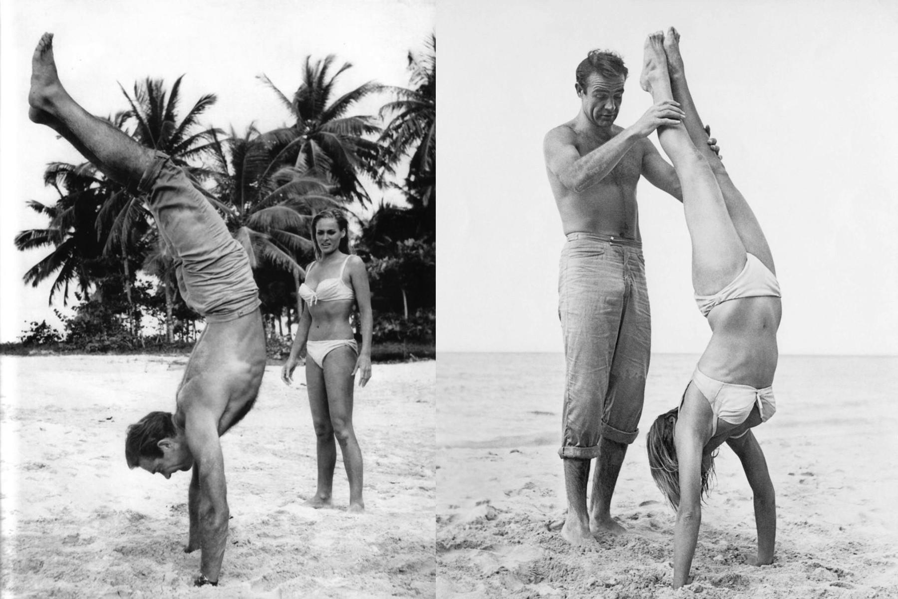 Sean Connery e Ursula Andress