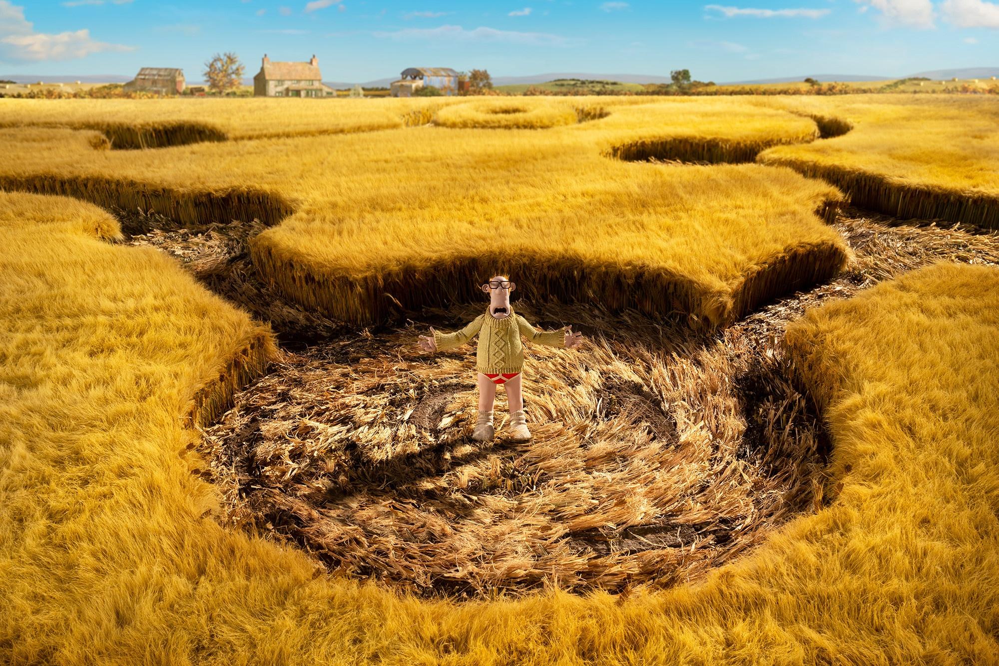 Gli alieni sbarcano nella fattoria Mossy Bottom