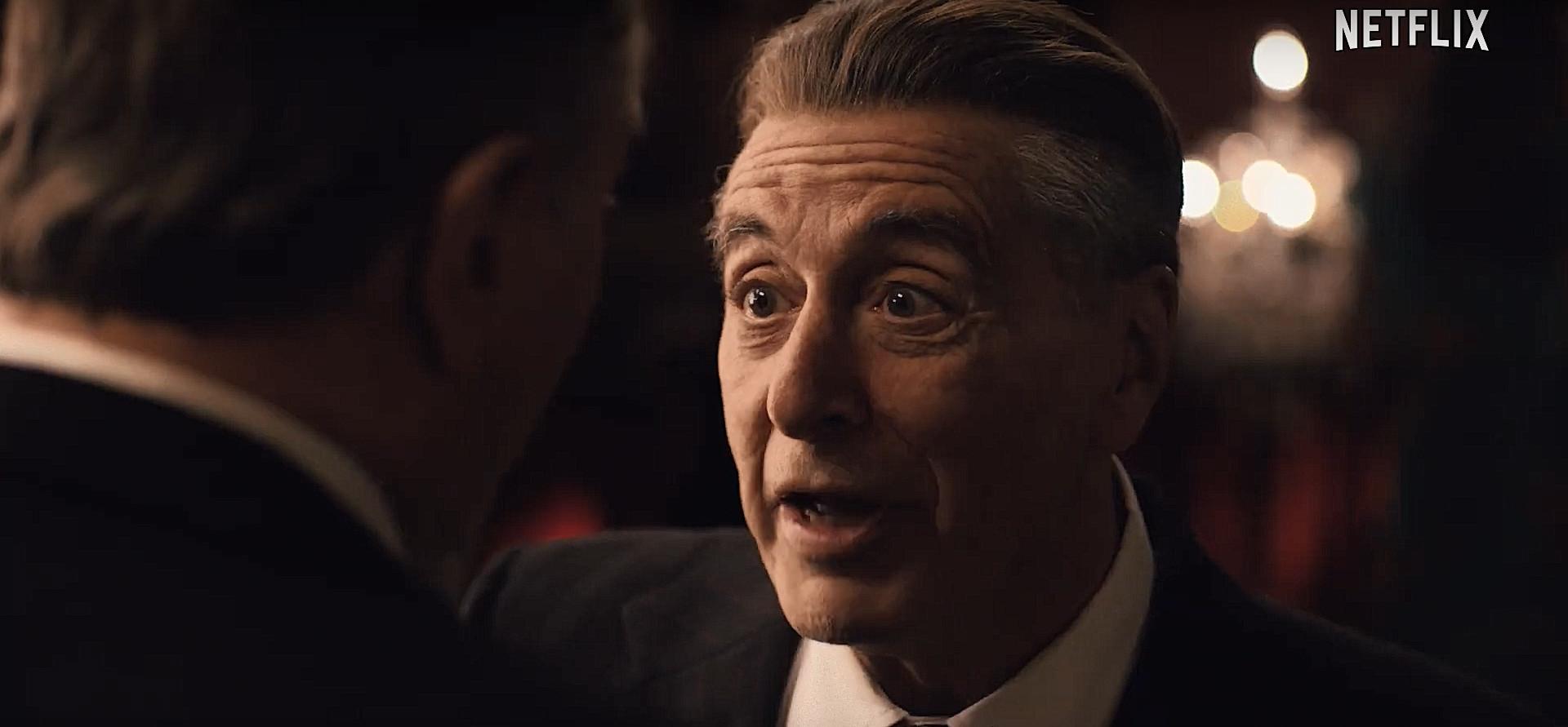 The Irishman nuovo trailer italiano