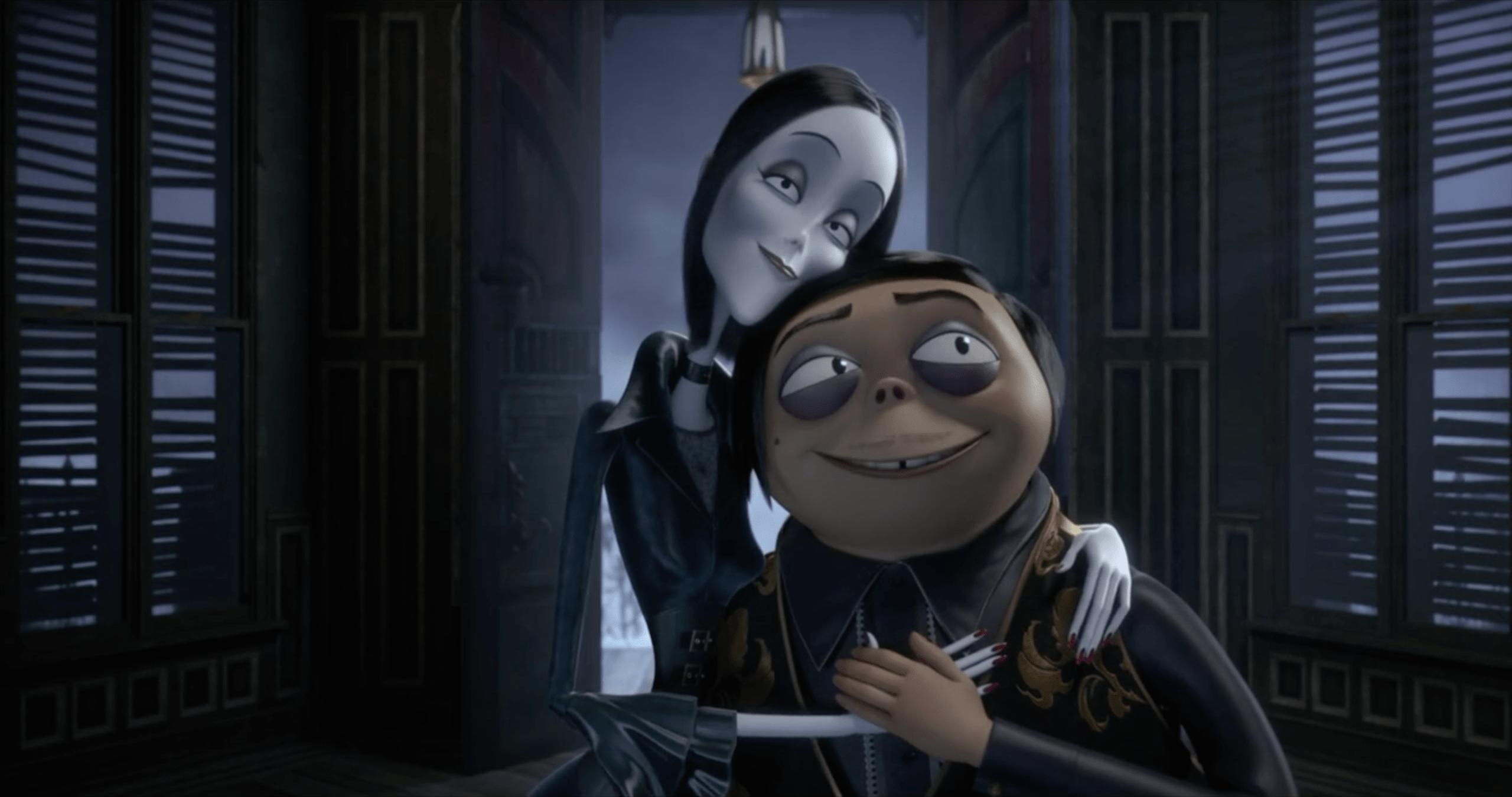 Morticia e Gomez Addams