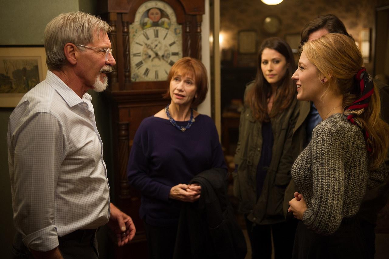 Harrison Ford, Kathy Baker, Amanda Crew e Blake Lively