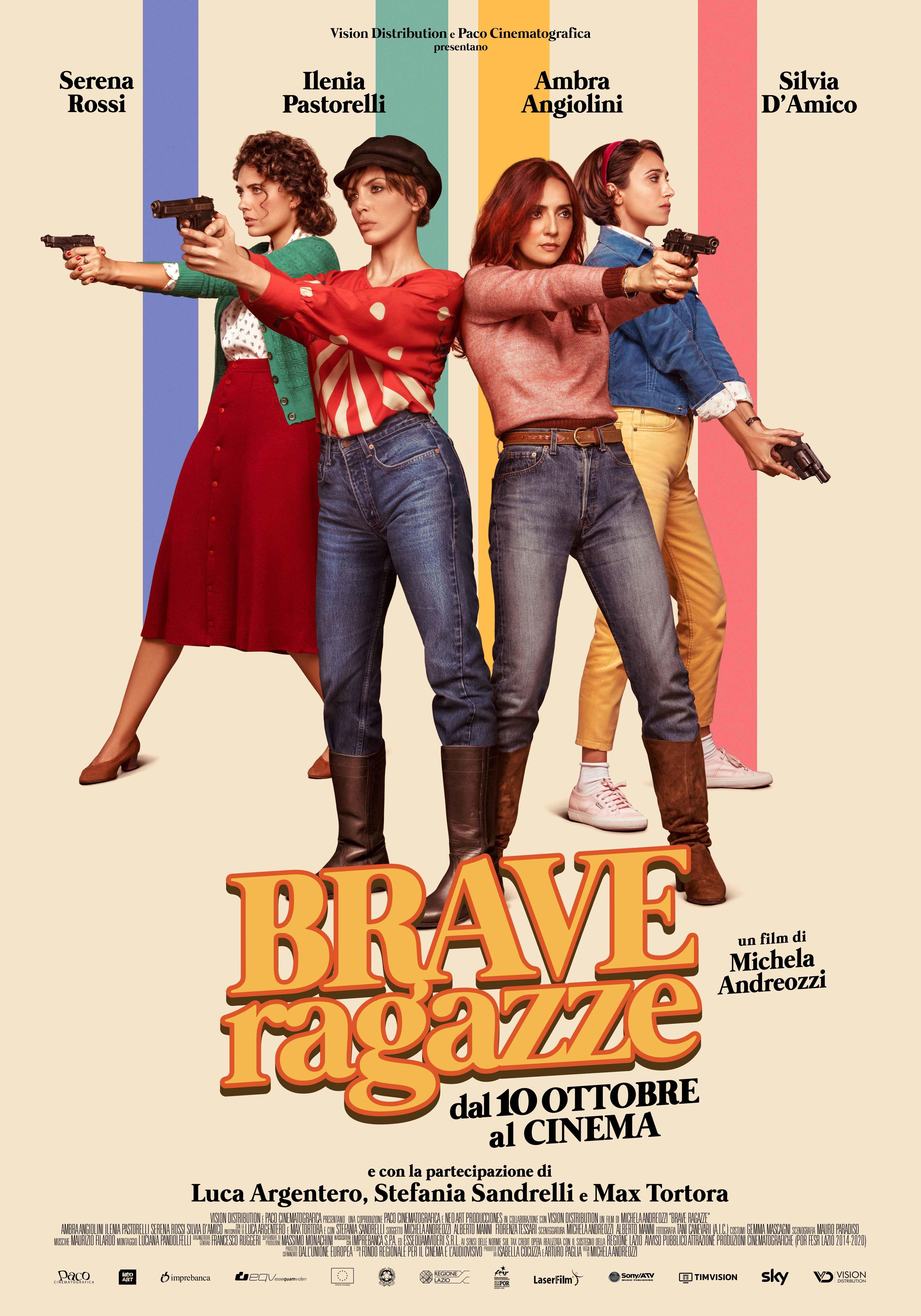 Brave ragazze: il Poster