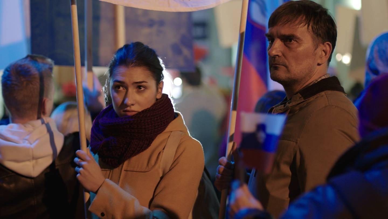 Zala Djuric Ribic e Leon Lucev