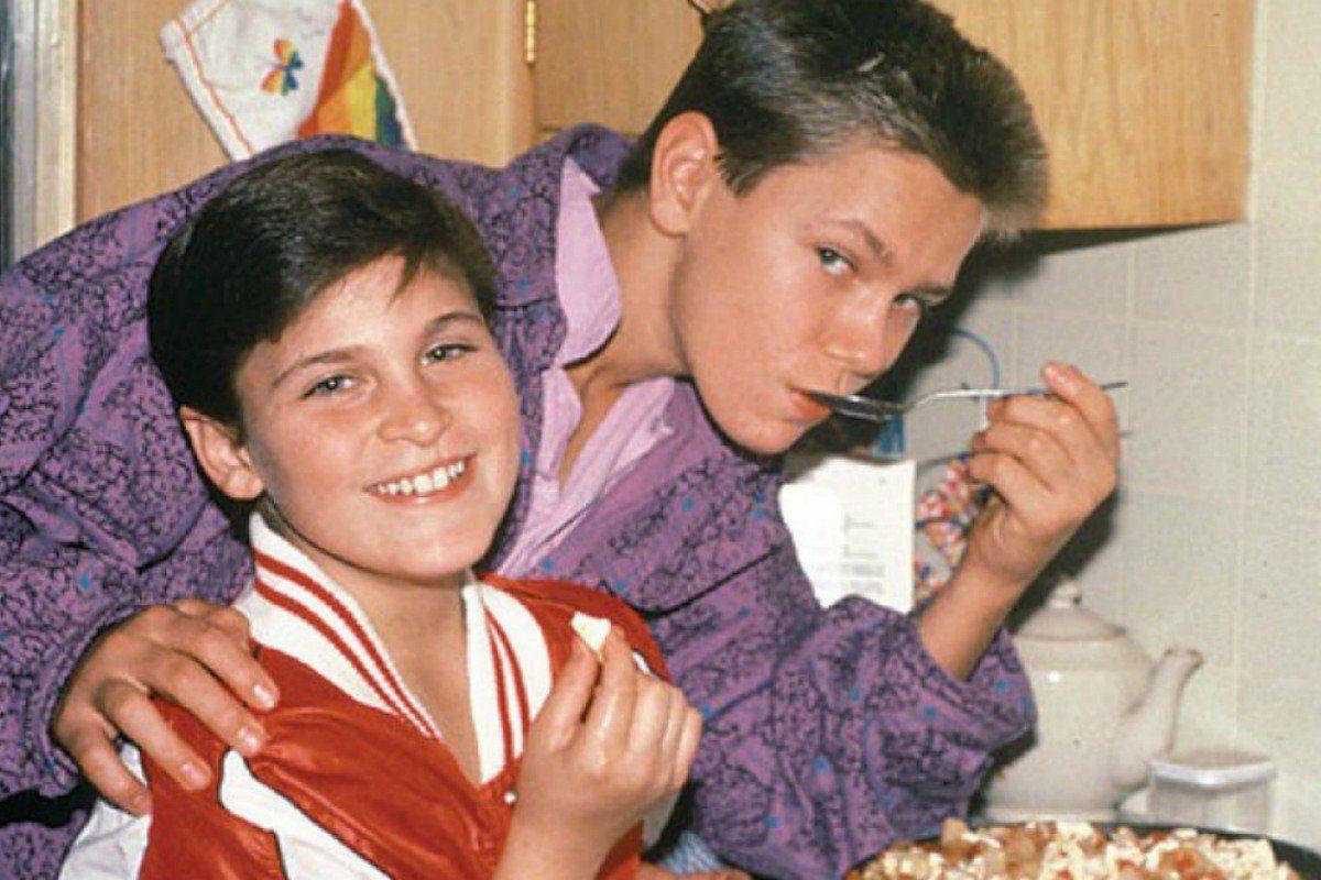 Joaquin Phoenix col fratello River