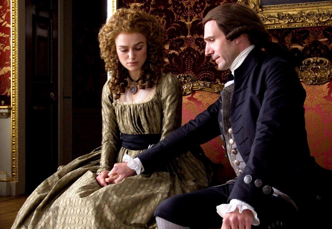 Keira Knightley e Ralph Fiennes