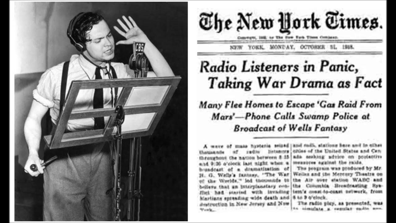La Guerra dei Mondi di Orson Welles