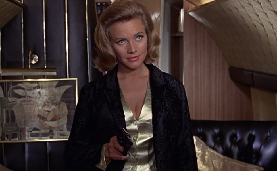 Pussy Galore (Honor Blackman), in Goldfinger