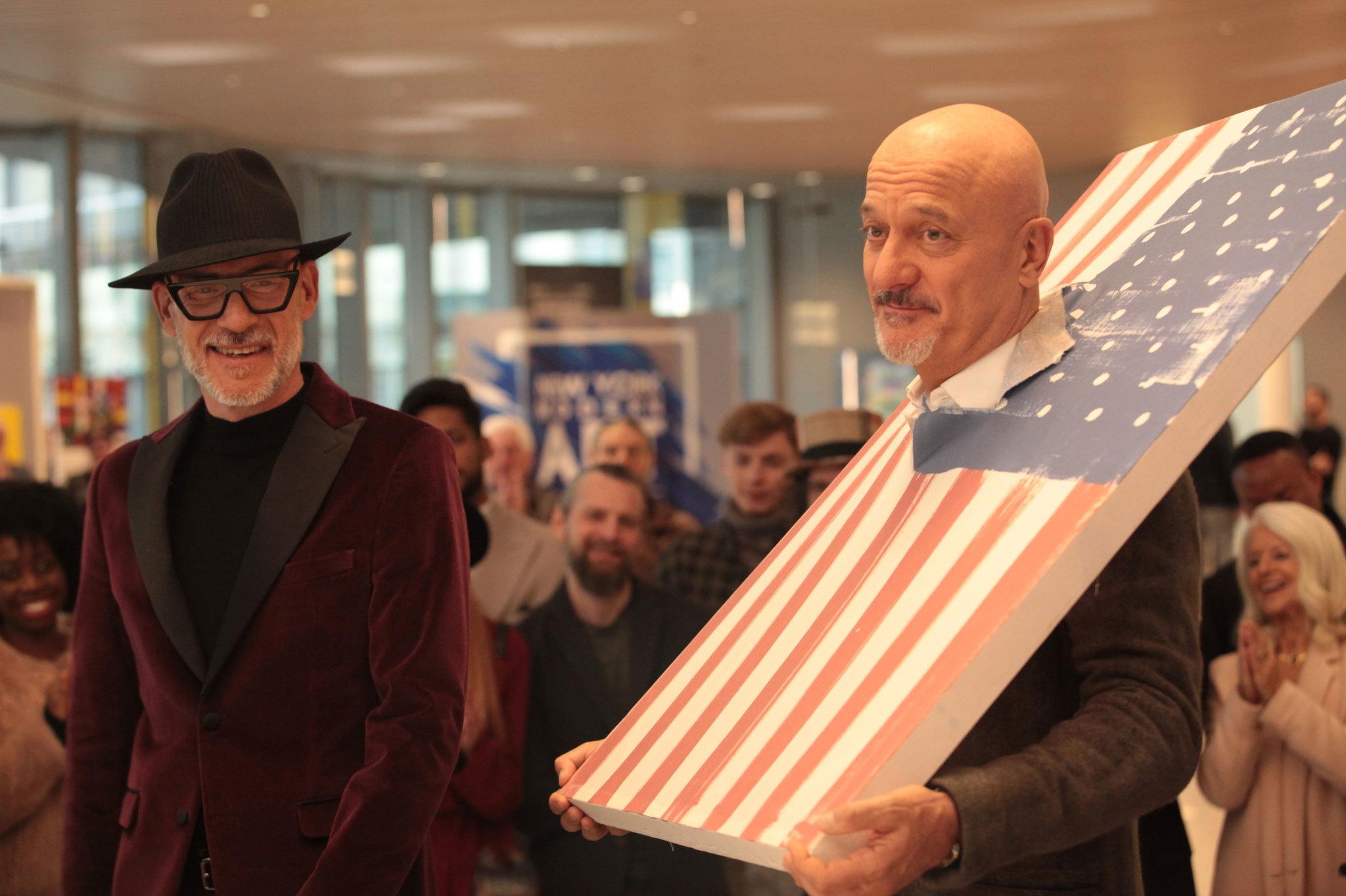 Claudio Bisio e Gian Marco Tognazzi