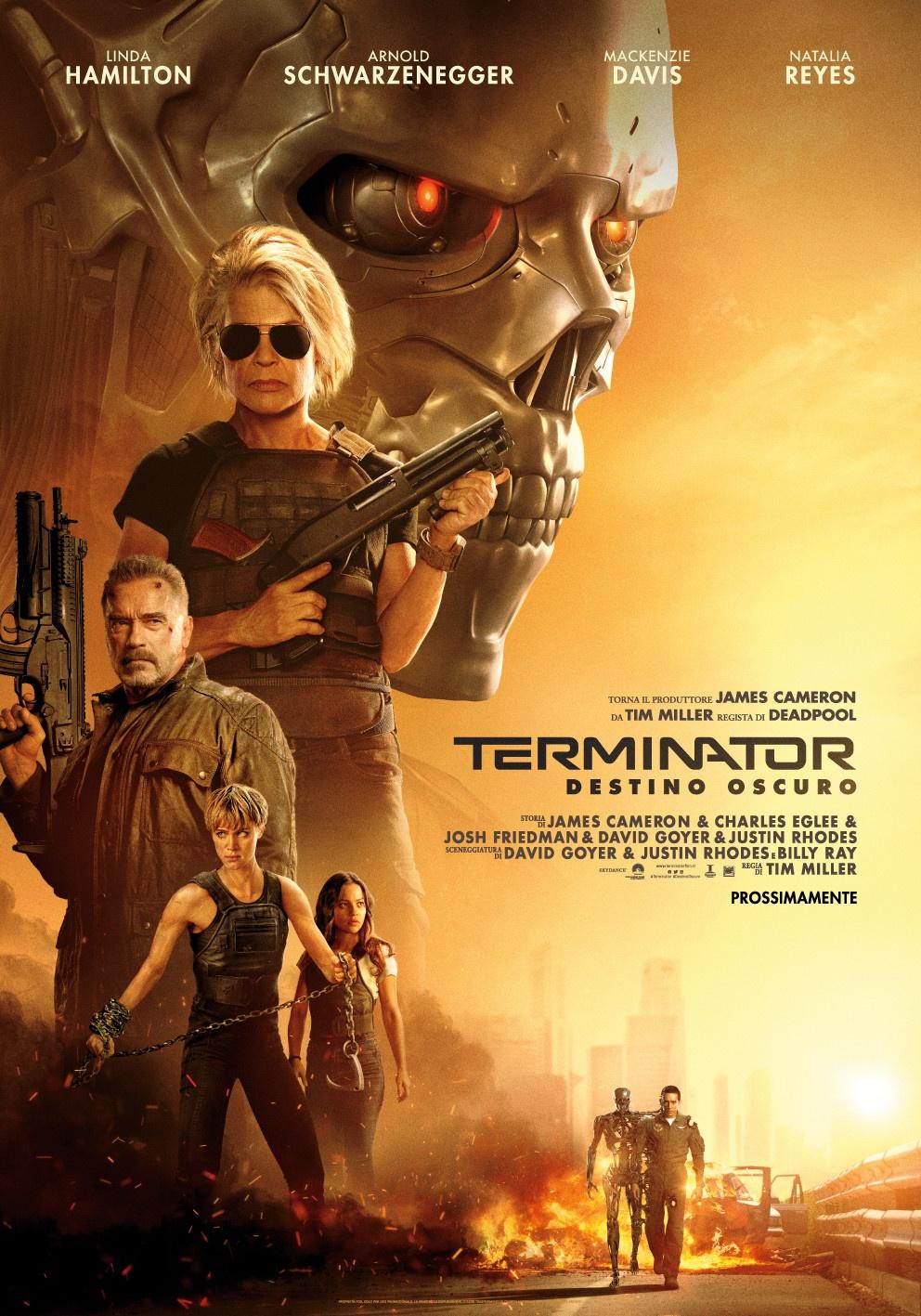 Terminator: Destino Oscuro - Il Poster