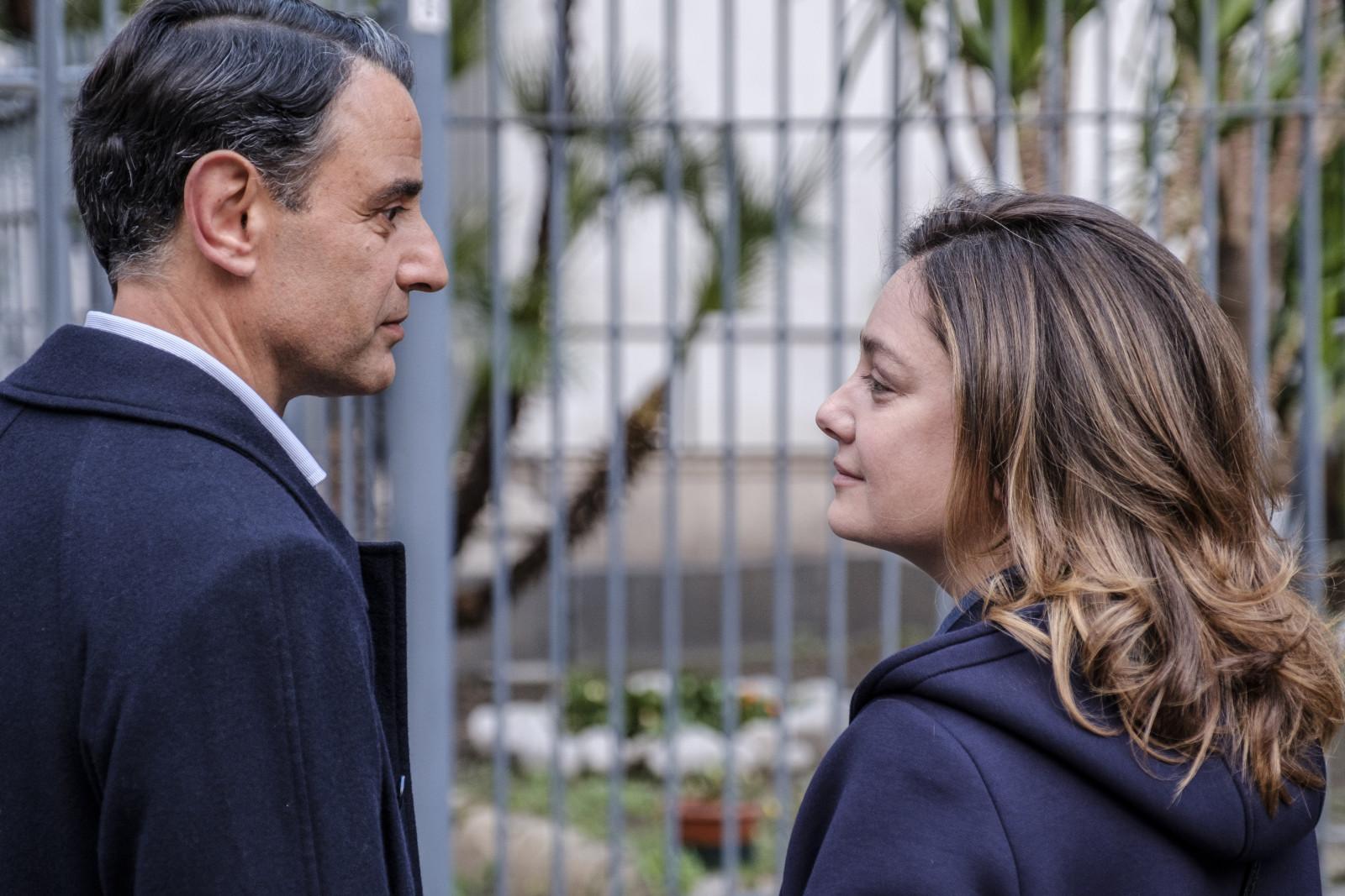 Vincenzo Amato e Giovanna Mezzogiorno