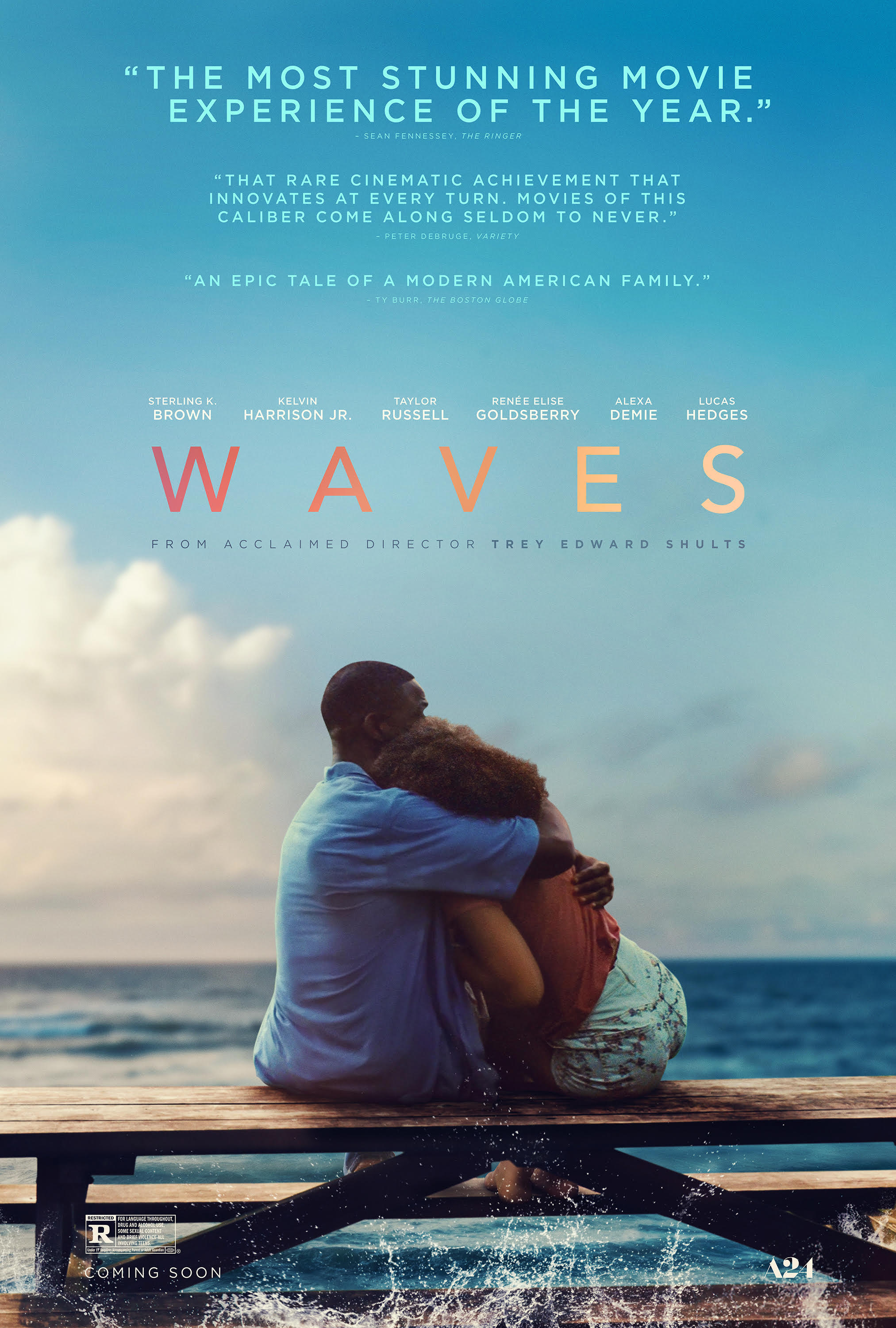 Waves: Il Poster