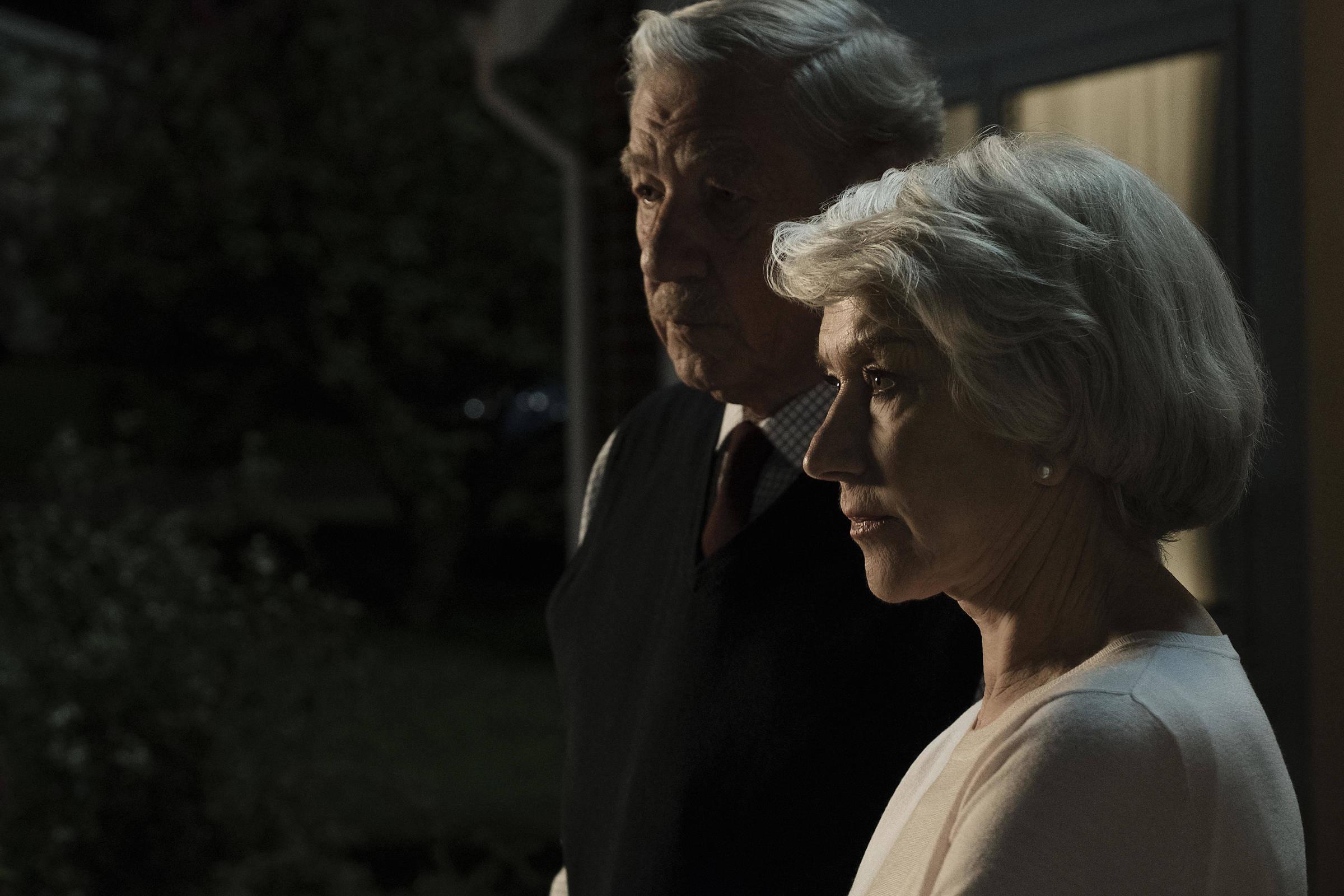 Helen Mirren e Ian McKellen in L'inganno perfetto