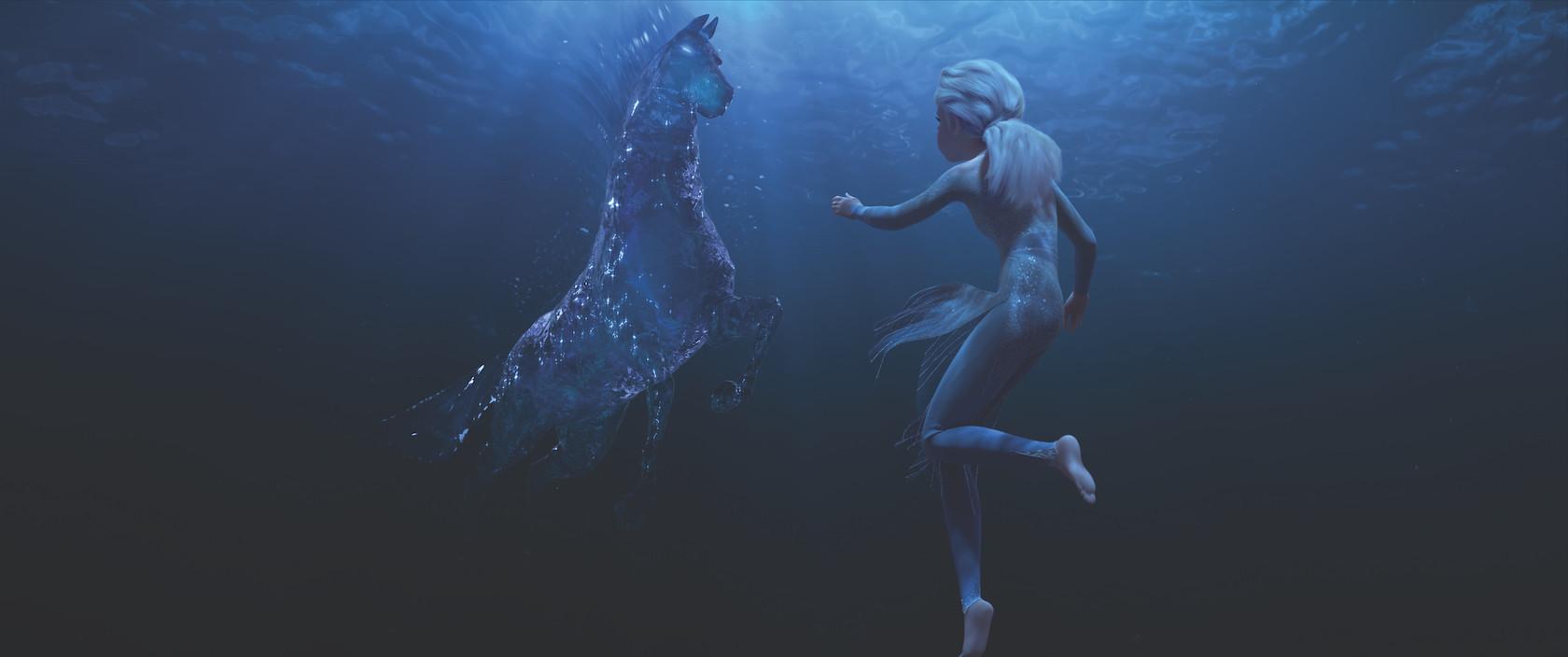 Elsa e il cavallo d'acqua