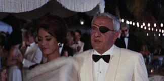 Domino Derval (Claudine Auger) ed Emilio Largo (Adolfo Celi) in Thunderball