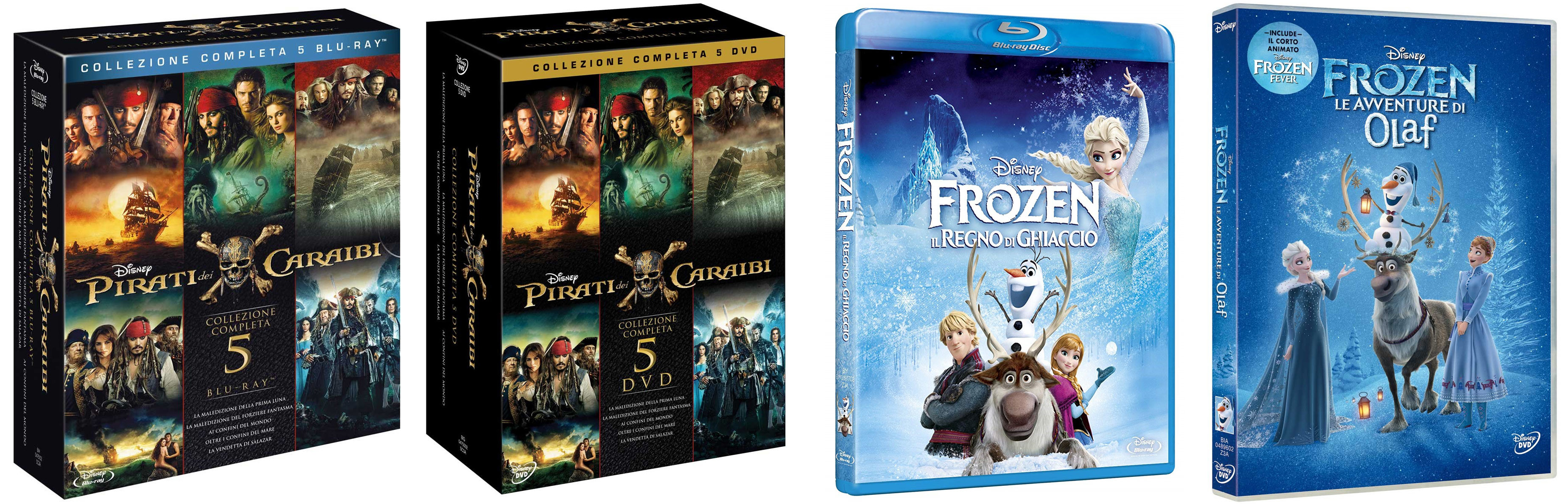 Black Friday Amazon 2019 Disney offerte Blu-ray e Dvd