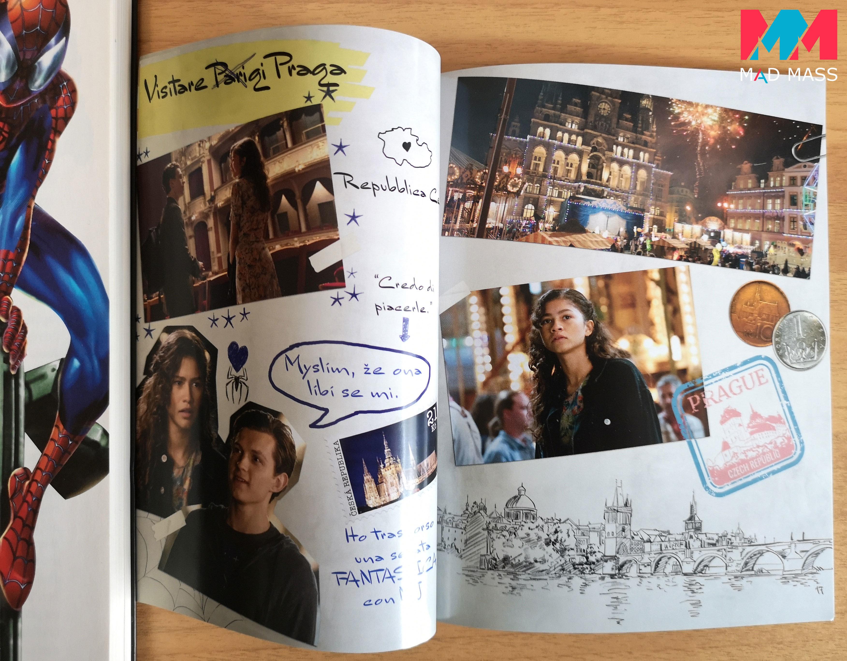 Il diario di viaggio di Peter Parker
