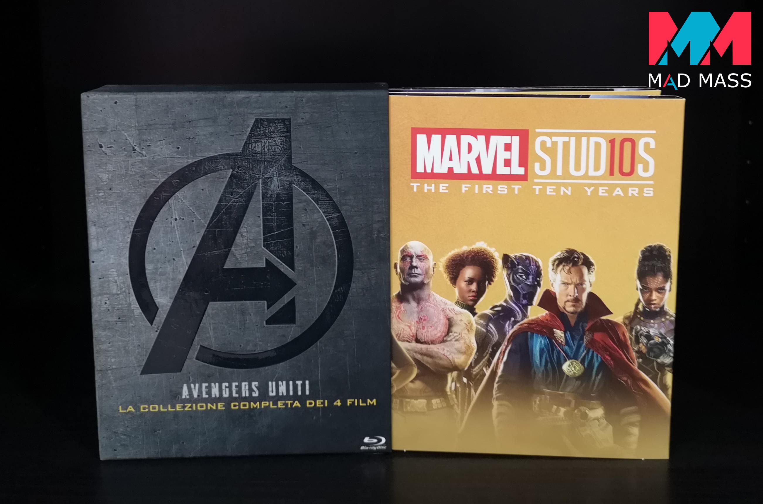 Avengers Uniti: la collezione completa dei 4 film in Blu-ray