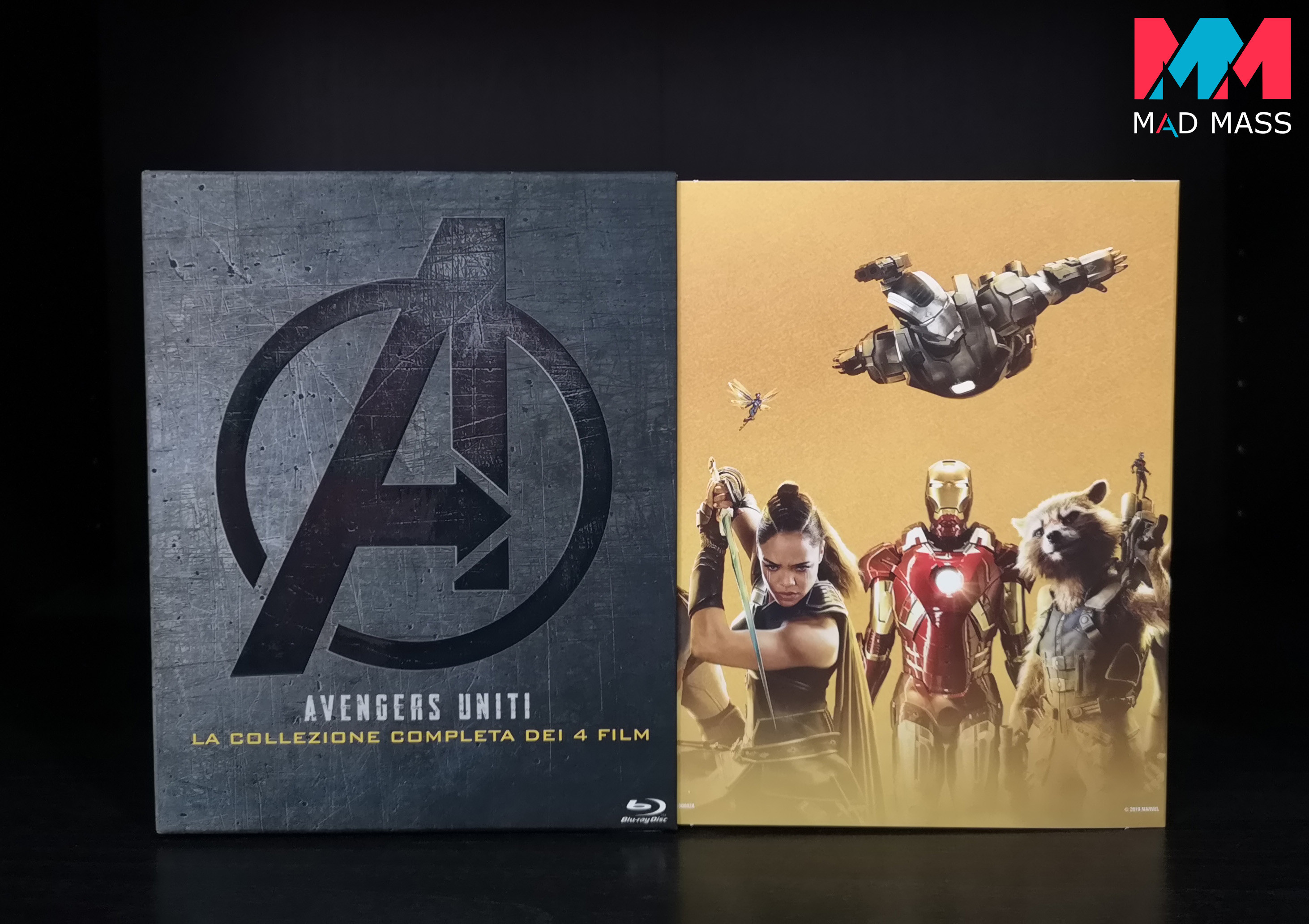 Black Friday Amazon 2019: Avengers Uniti la collezione completa in Blu-ray