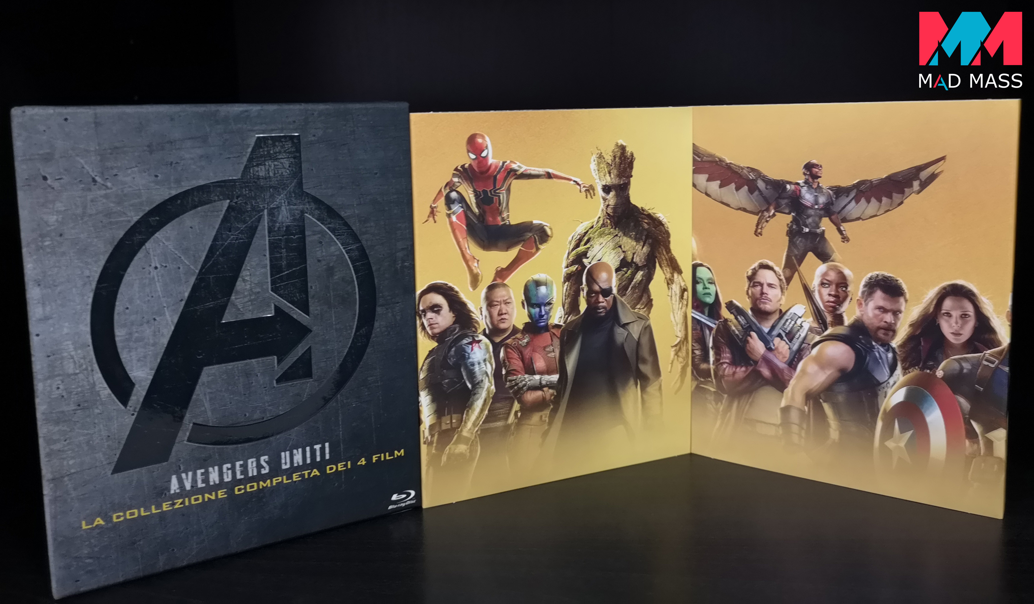 Black Friday Amazon 2019: Avengers il cofanetto della saga in Blu-ray