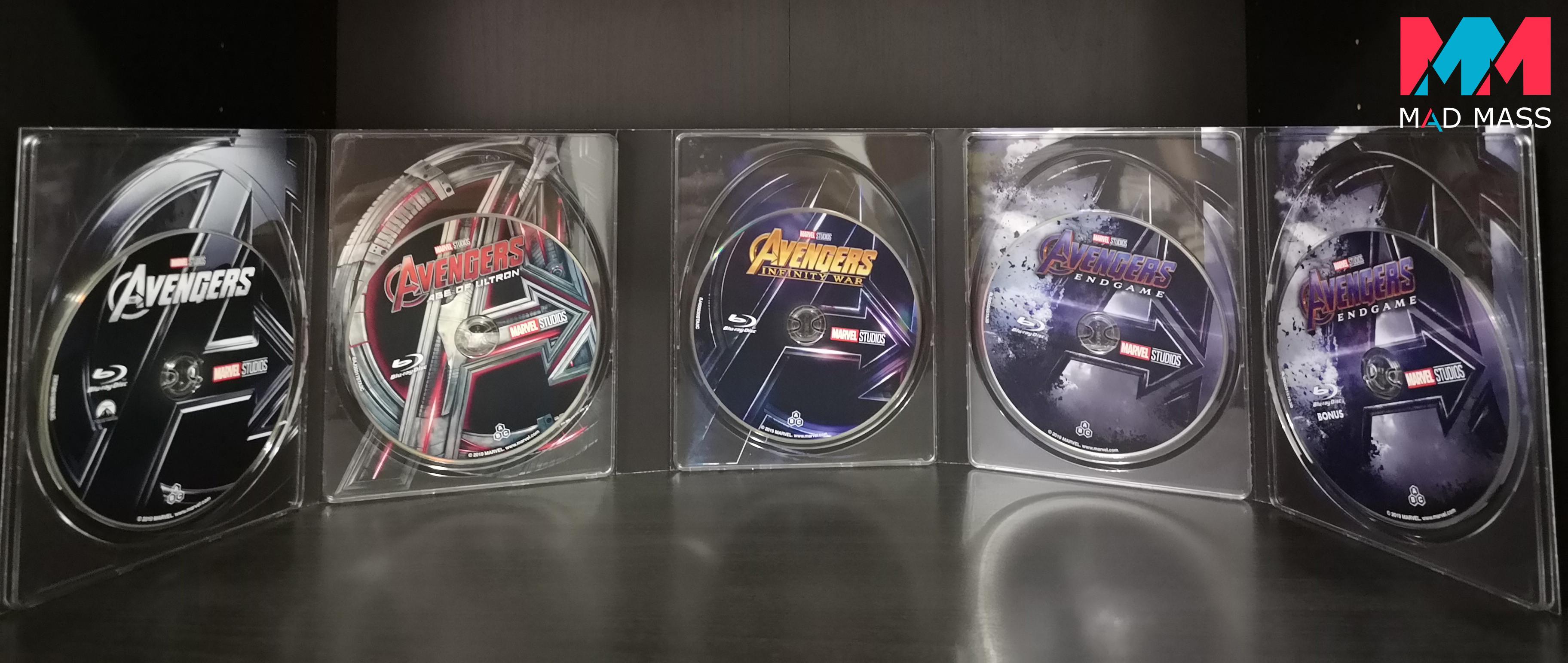Avengers il cofanetto della saga in Blu-ray
