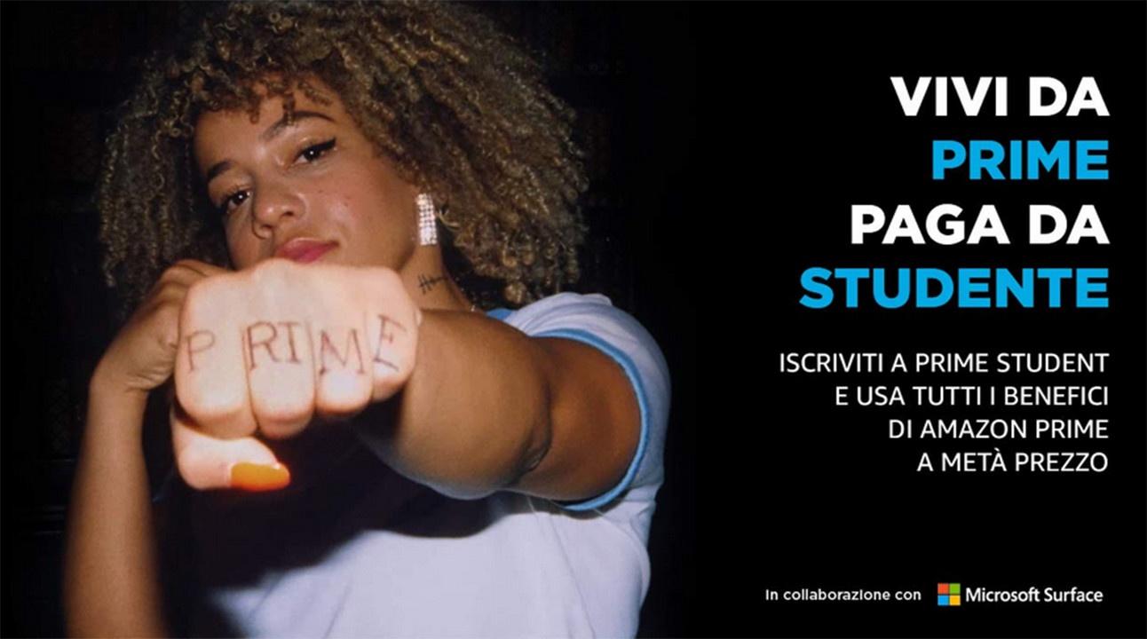 Black Friday Amazon Prime Student offerta