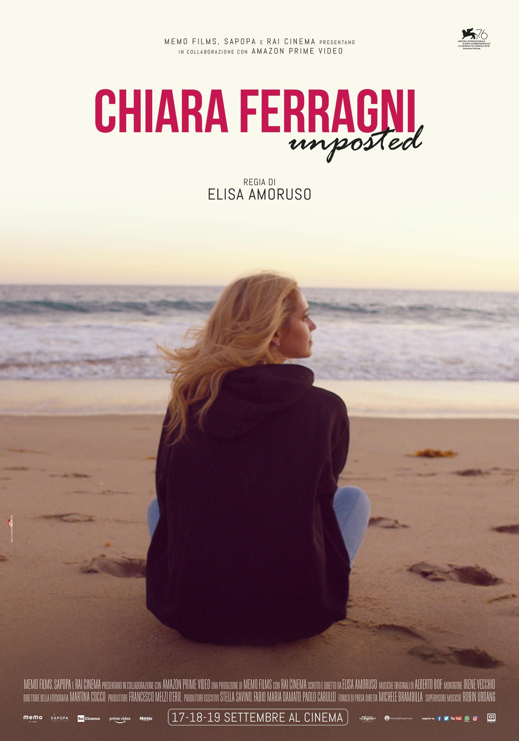 Chiara Ferragni - Unposted: il Poster