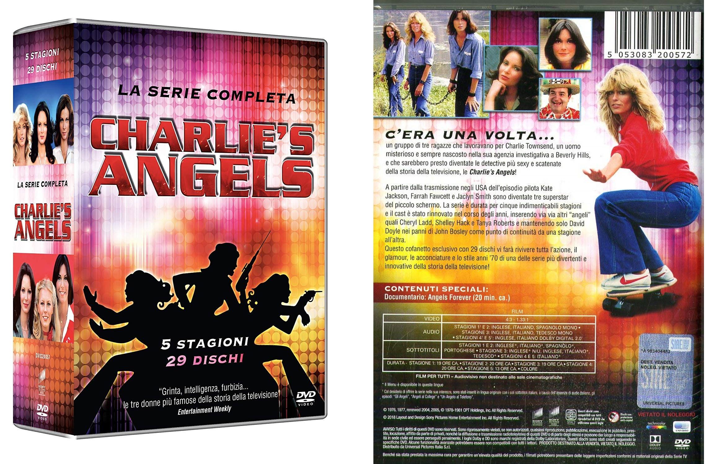 Charlie's Angels: La Collezione Completa Stagioni 1-5