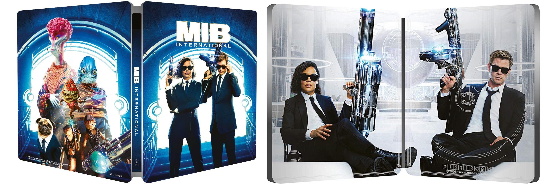 Men in Black: International in Steelbook + 4K Ultra HD + Blu-ray