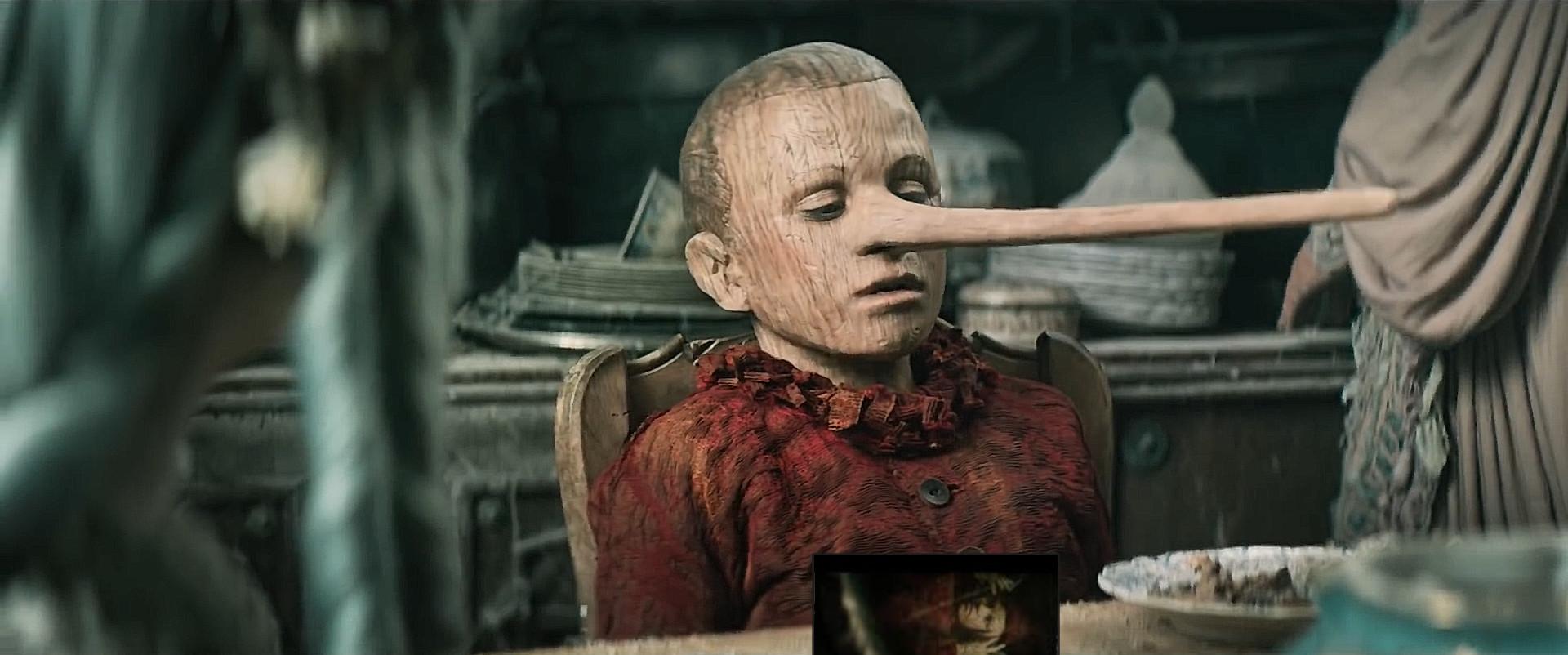 Federico Ielapi è Pinocchio
