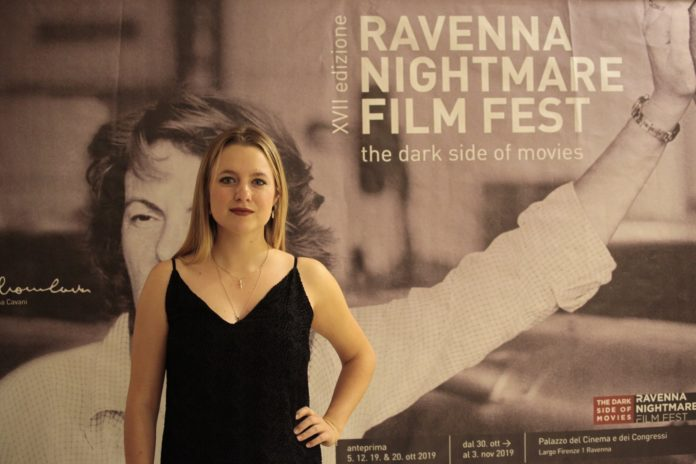 Madison Ford al Ravenna Nightmare Film Fest