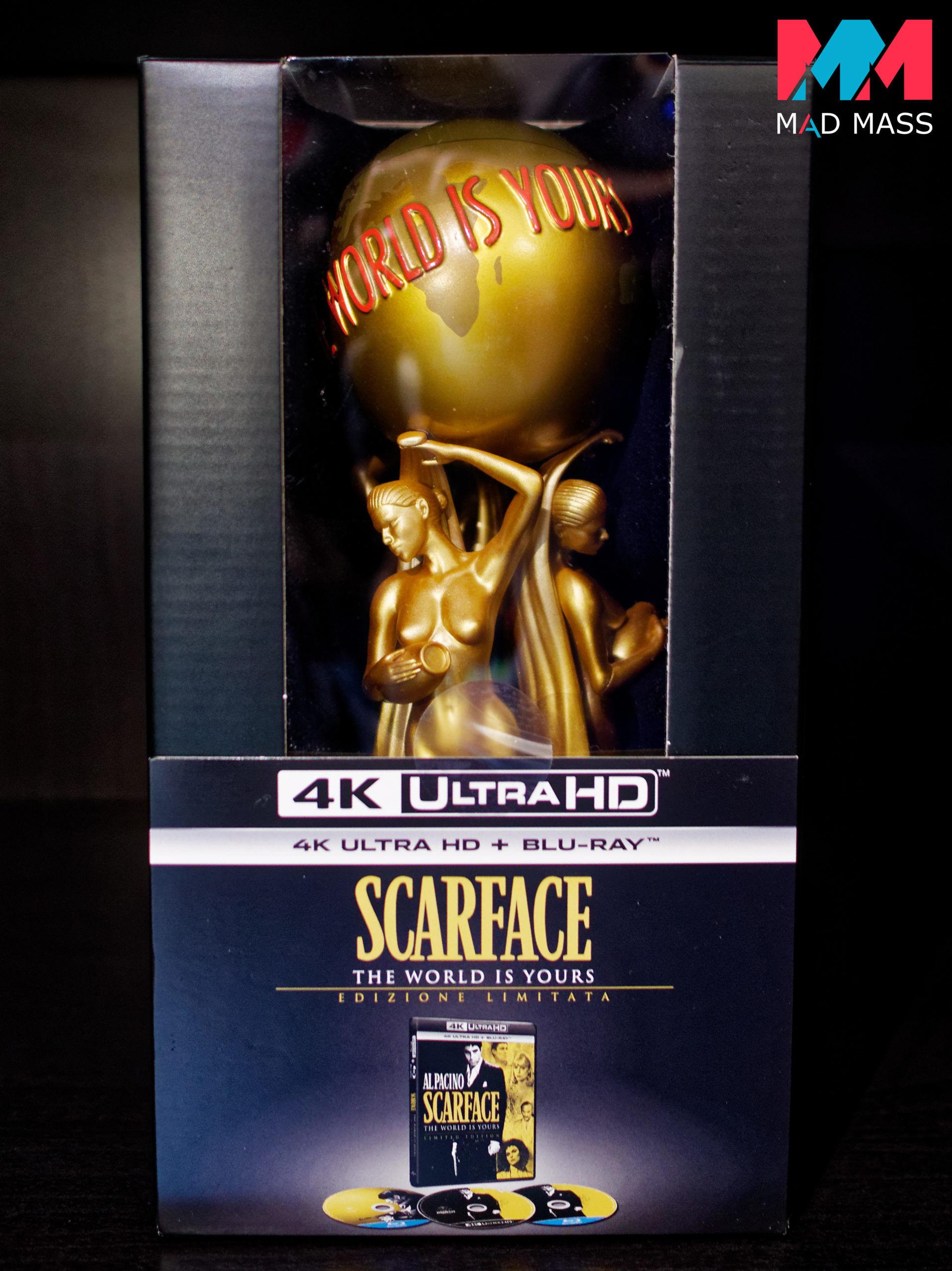 Scarface Edizione Limitata con Statuetta da Collezione Blu-ray 4K