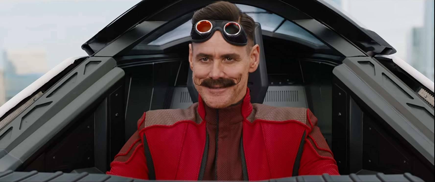 Jim Carrey è il Dr. Ivo Robotnik