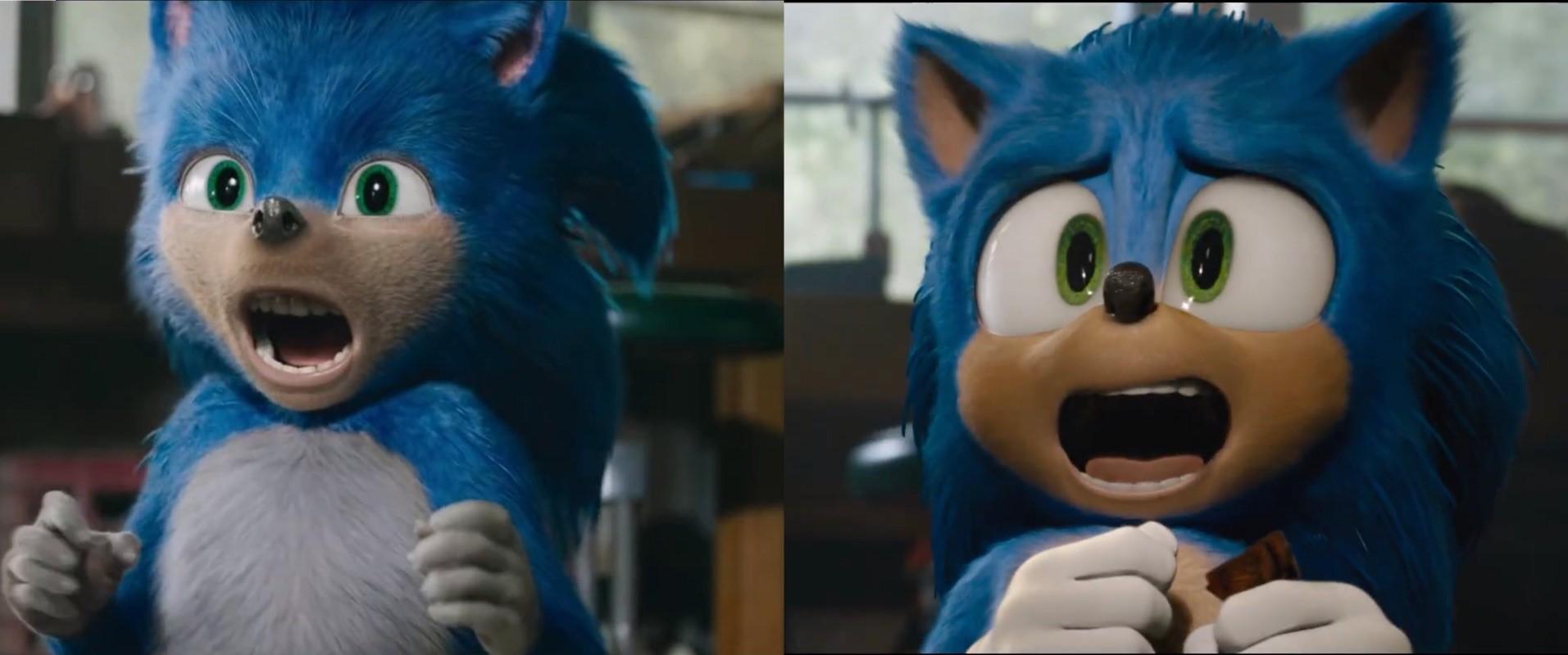 Sonic: il paragone tra il vecchio e il nuovo look