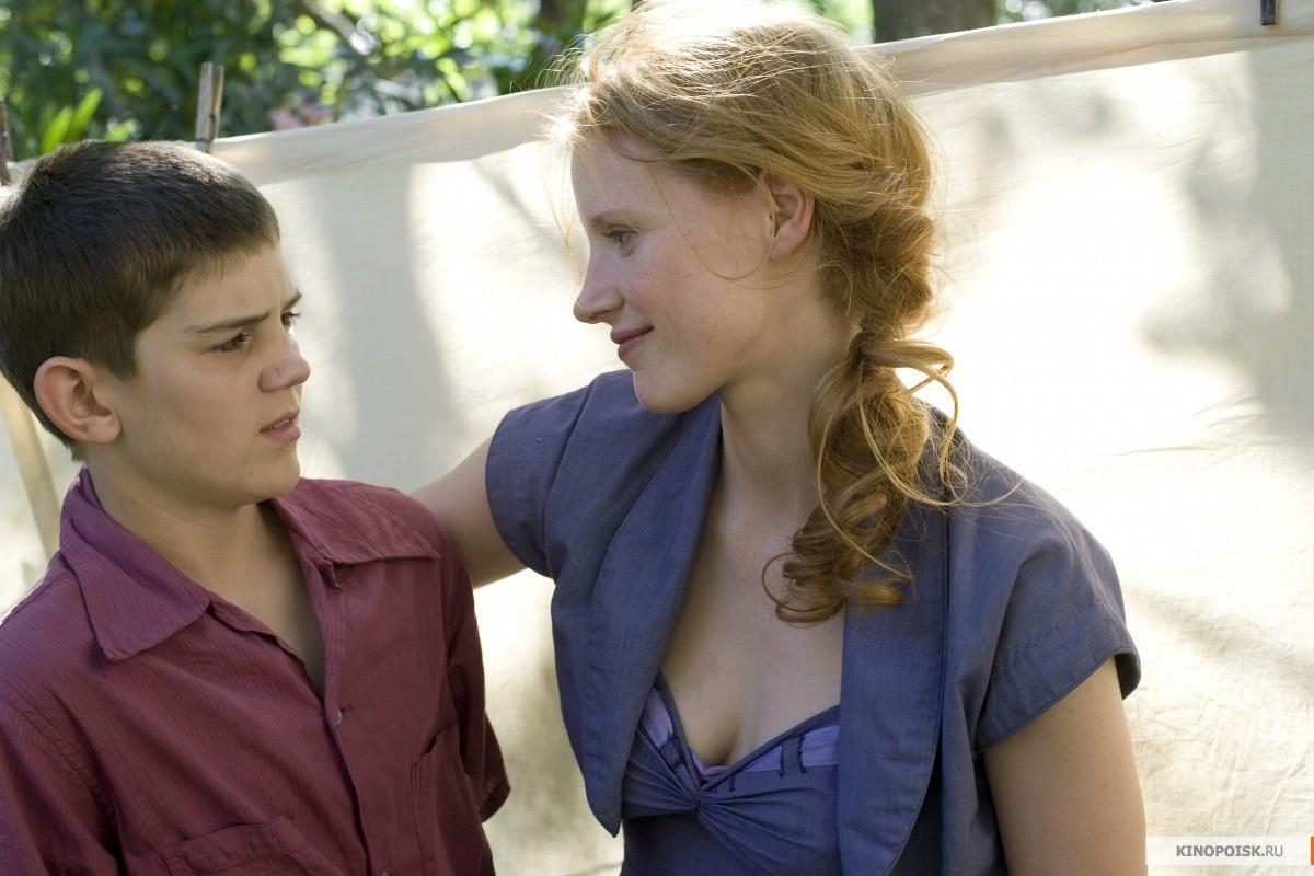 Hunter McCracken e Jessica Chastain