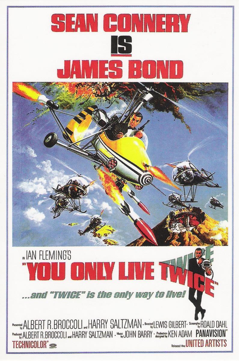 La locandina di Agente 007 - Si vive solo due volte