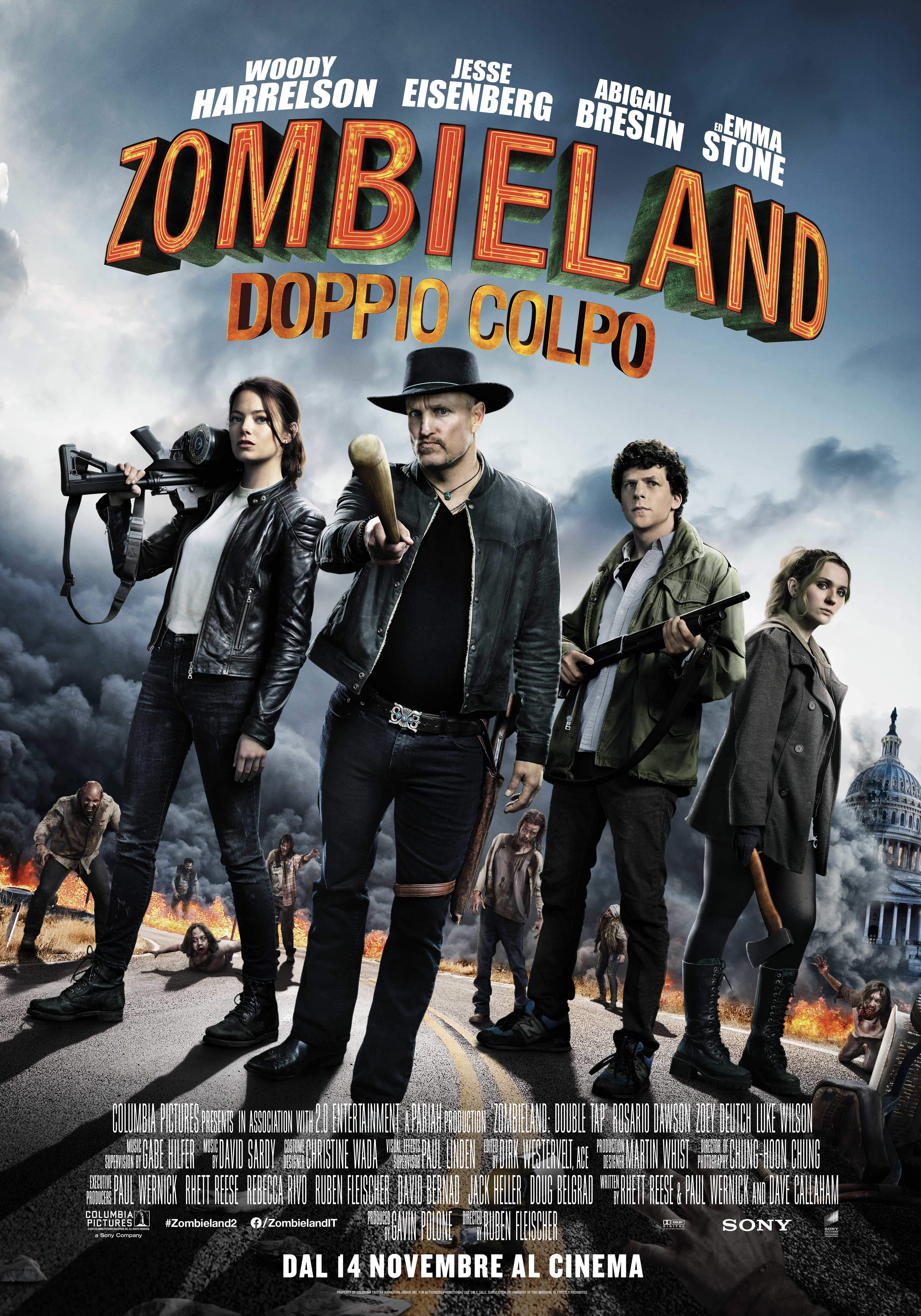 Zombieland - Doppio Colpo: Il poster italiano