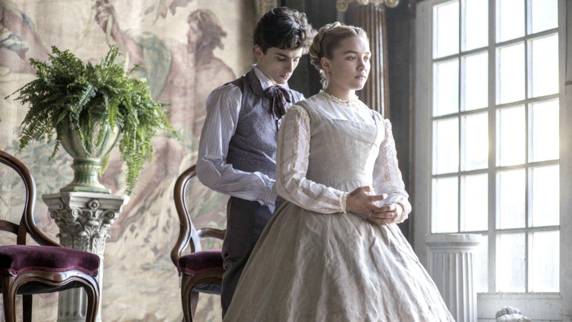 Timothée Chalamet e Florence Pugh