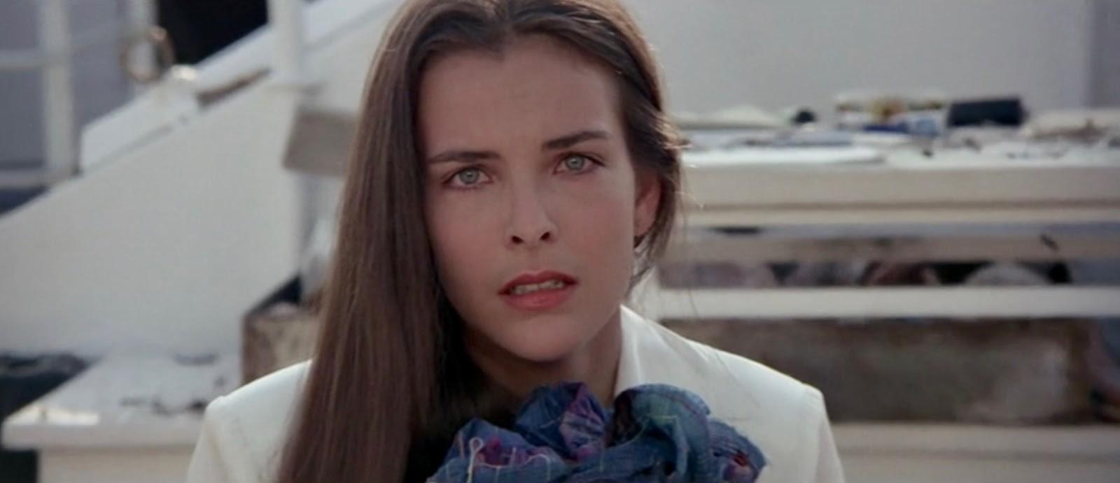 Gli occhi di Melina Havelock (Carole Bouquet) giurano vendetta