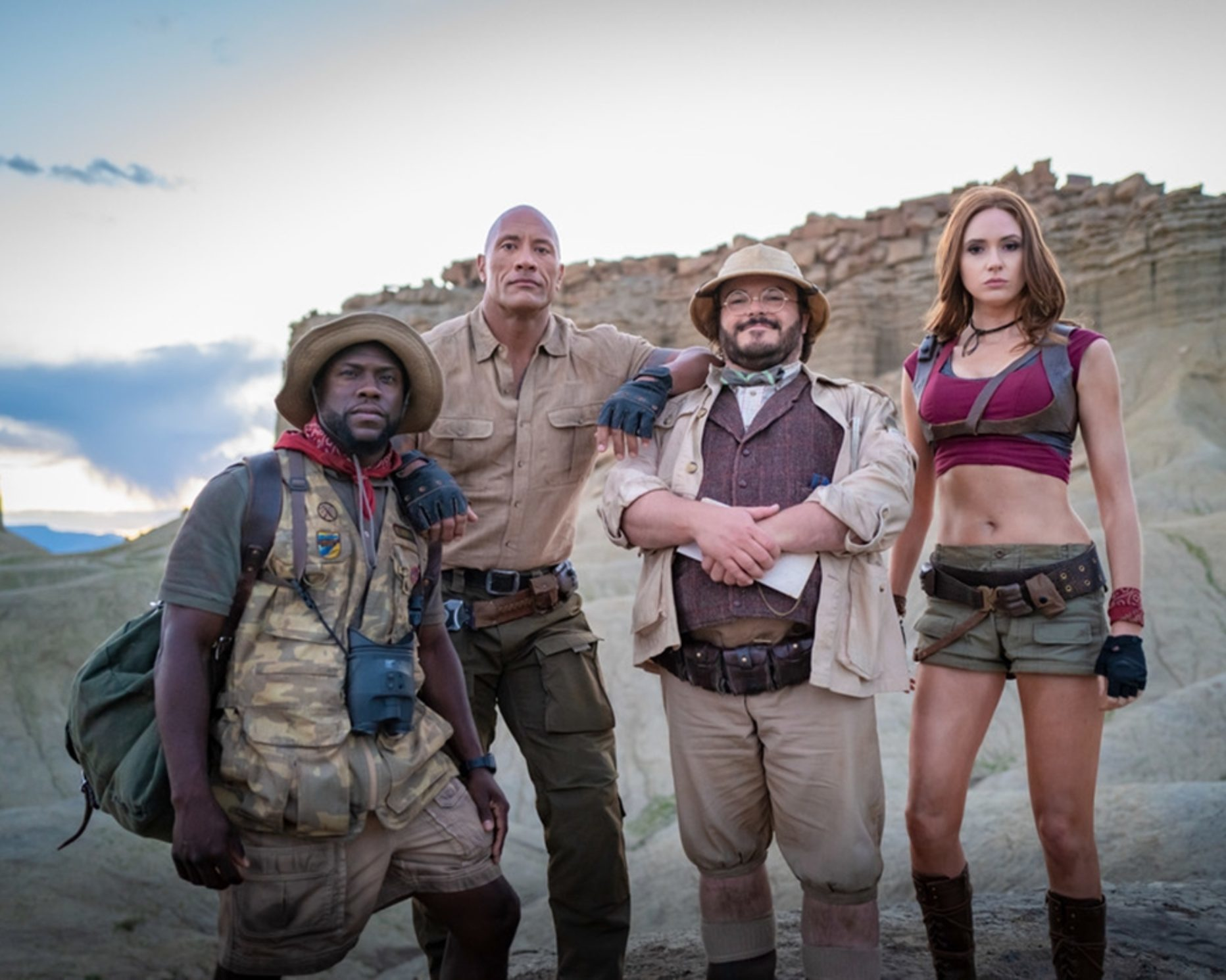 Il cast di Jumanji: The Next Level