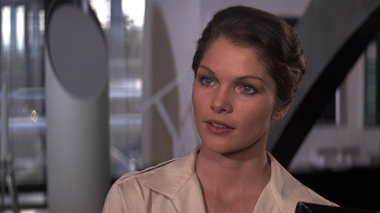 Lois Chiles è il dottor Holly Goodhead in Moonraker