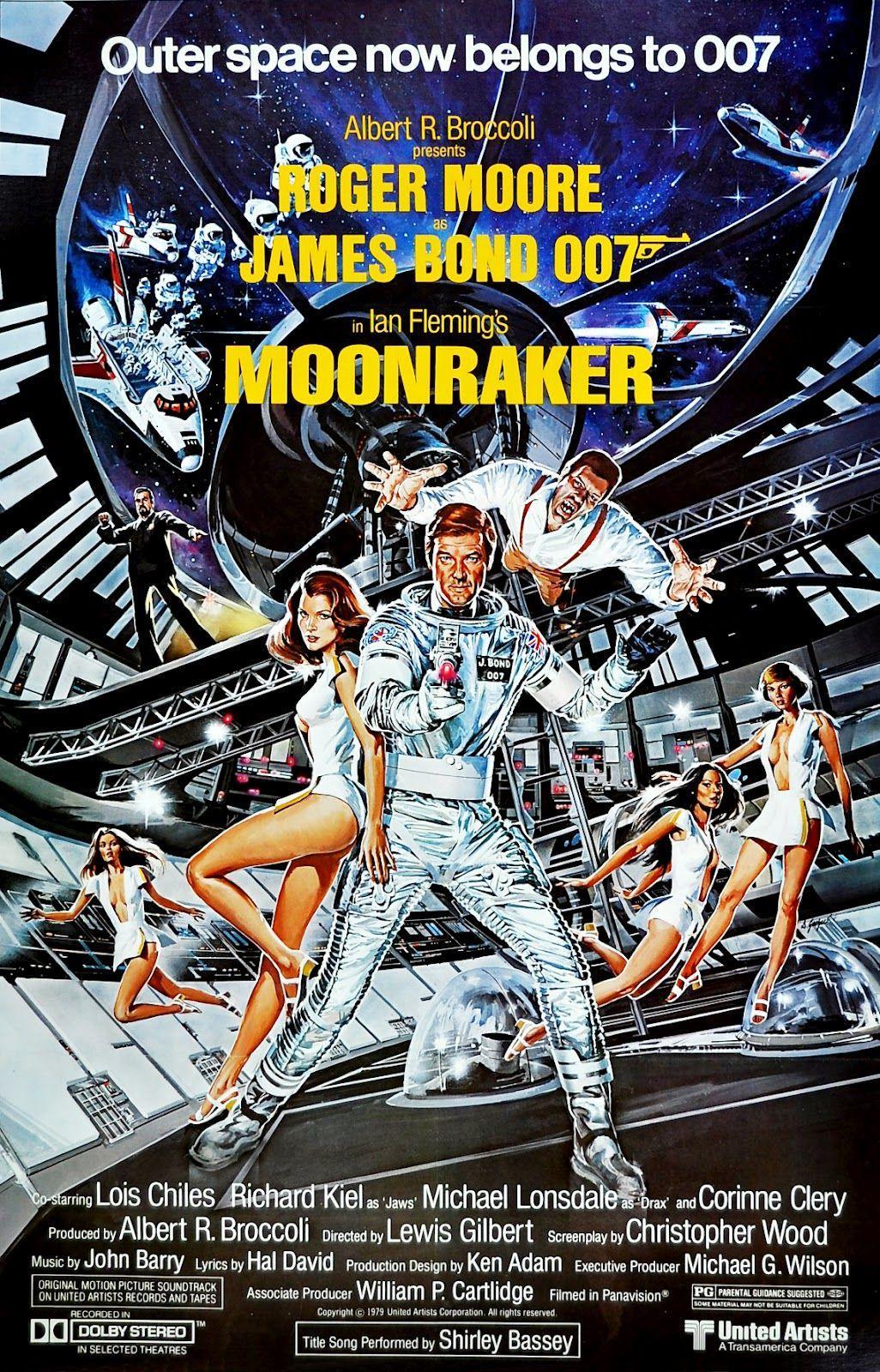 La locandina di Moonraker - Operazione Spazio