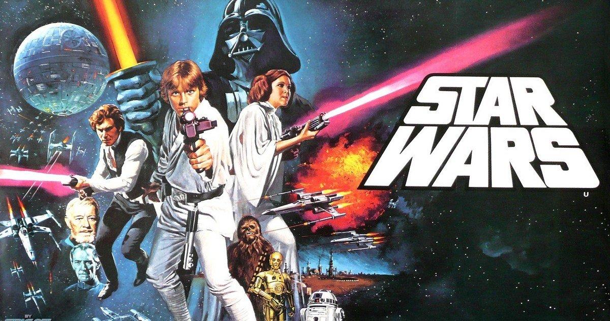 Guerre Stellari: il poster