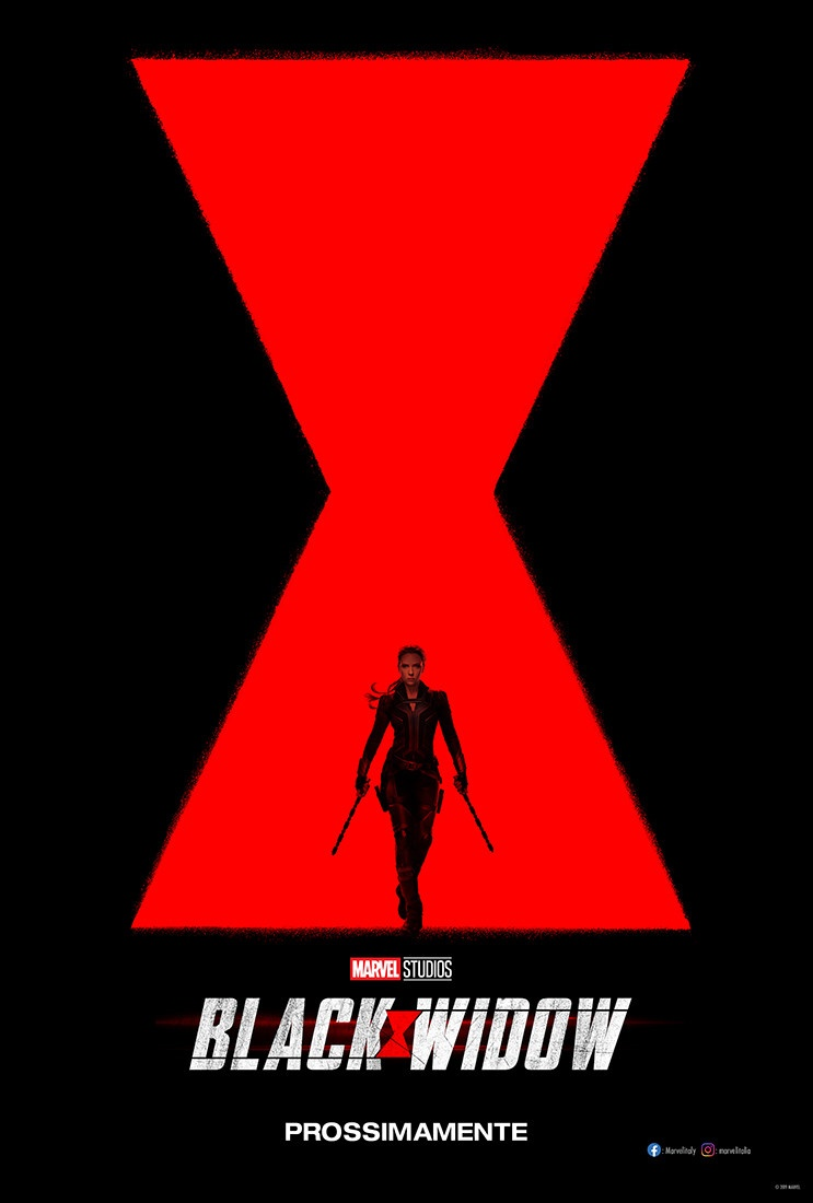 Black Widow poster italiano