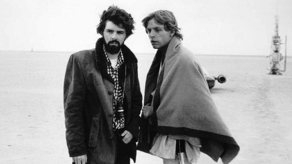 George Lucas e Mark Hamill