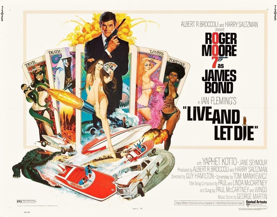 Il poster di Live and Let Die - Vivi e lascia morire
